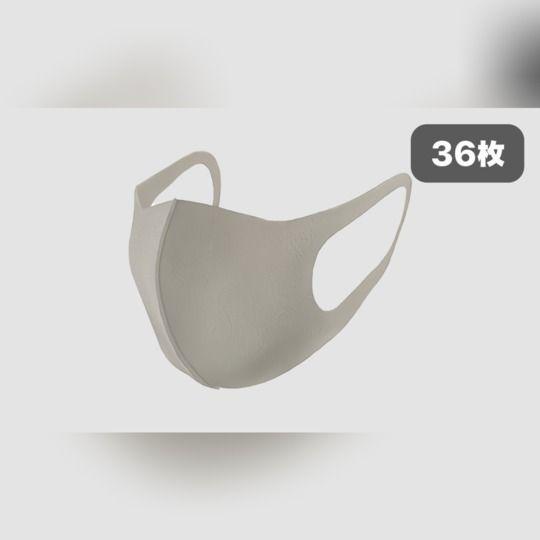 洗える立体マスク<36枚セット>😷グレー・大人用・男女兼用🎵繰り返し使える【全国配送無料】